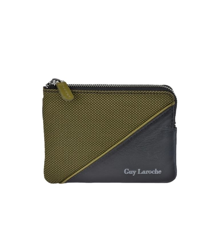 Comprar Guy Laroche Leather coin purse GL-3727 green -11,5x8,5x1,5cm
