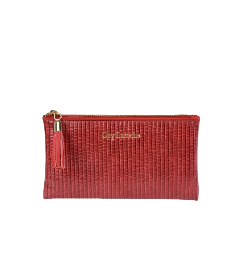 Comprar Guy Laroche Monedero de piel GL-7484 rojo -17x9.5x1cm-