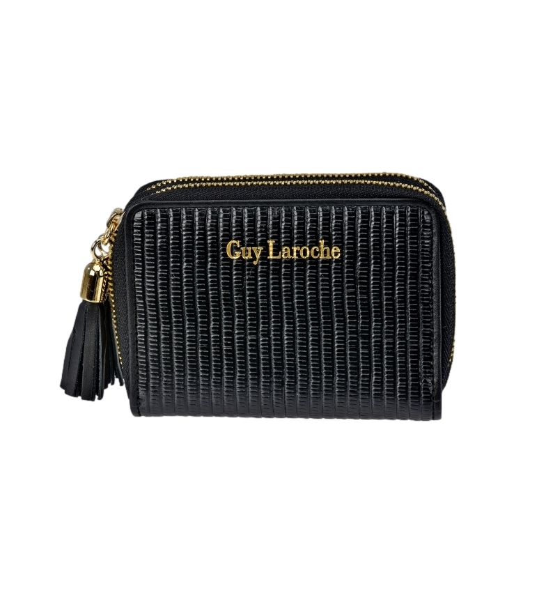 Comprar Guy Laroche Leather wallet GL-7477 black -11x8.5x3cm