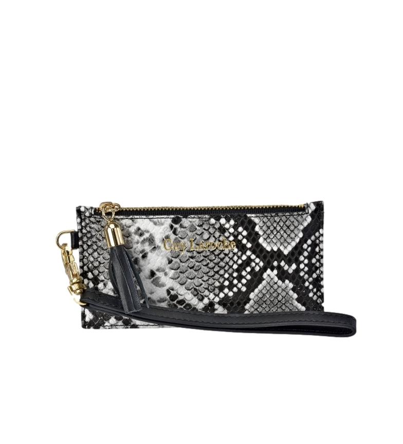Comprar Guy Laroche Snake print leather holder GL-7459 white -14x7.5x1cm