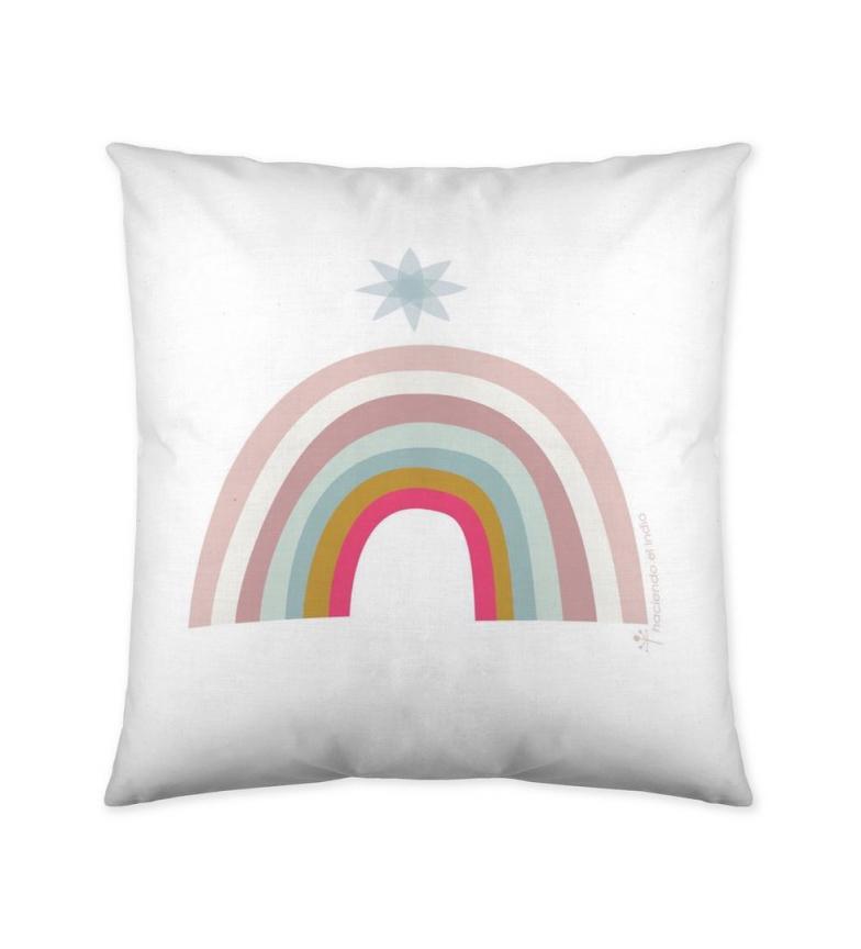 Comprar HACIENDO EL INDIO Unicorn Pink cushion cover -40x40 cm-