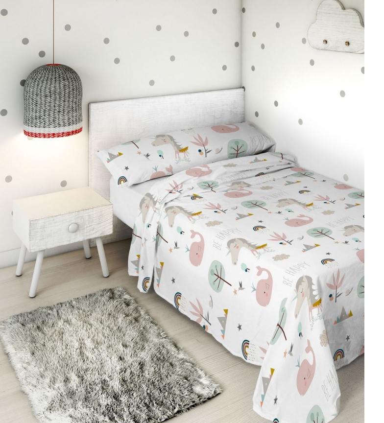 Comprar HACIENDO EL INDIO Conjunto de folhas 2pcs Rainbowland -Bed 105cm-