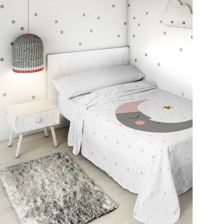 Comprar HACIENDO EL INDIO Jogo de folhas 2pcs Lua adormecida -Bed 105cm-