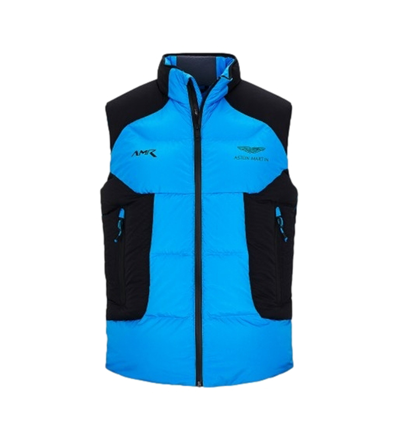 HACKETT Chaleco AMR Astro Pacer azul