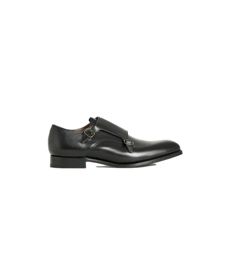 HACKETT Sapatos de couro Black Duble