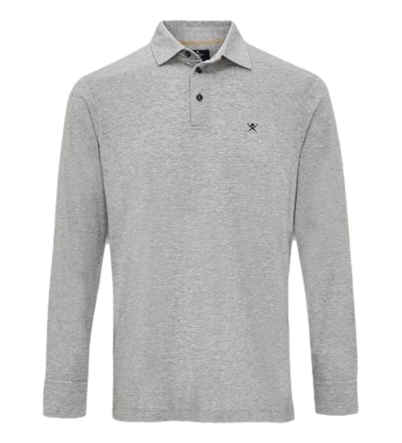 HACKETT Polo Filafil Jersey light grey