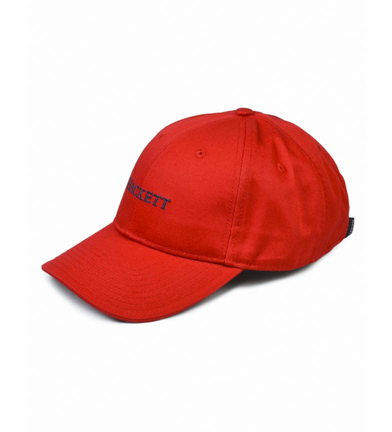 HACKETT Gorra beisbolera clásica rojo