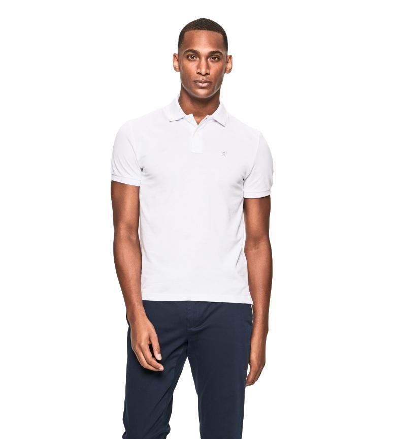 Comprar HACKETT Camisa pólo com logotipo Fit Slim branco