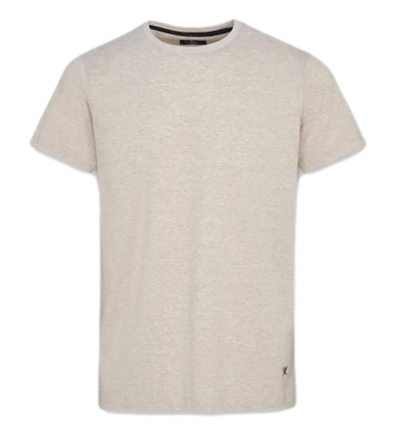 HACKETT T-shirt in misto misto beige