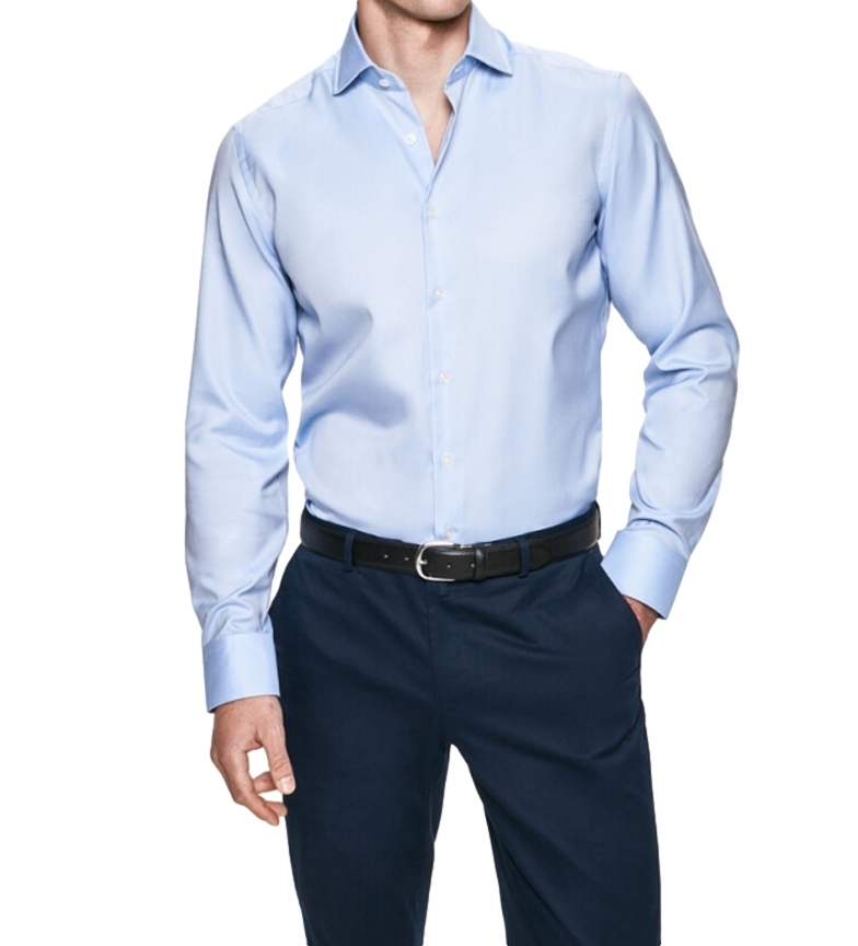 Comprar HACKETT Camicia Oxford Slim Fit Blu