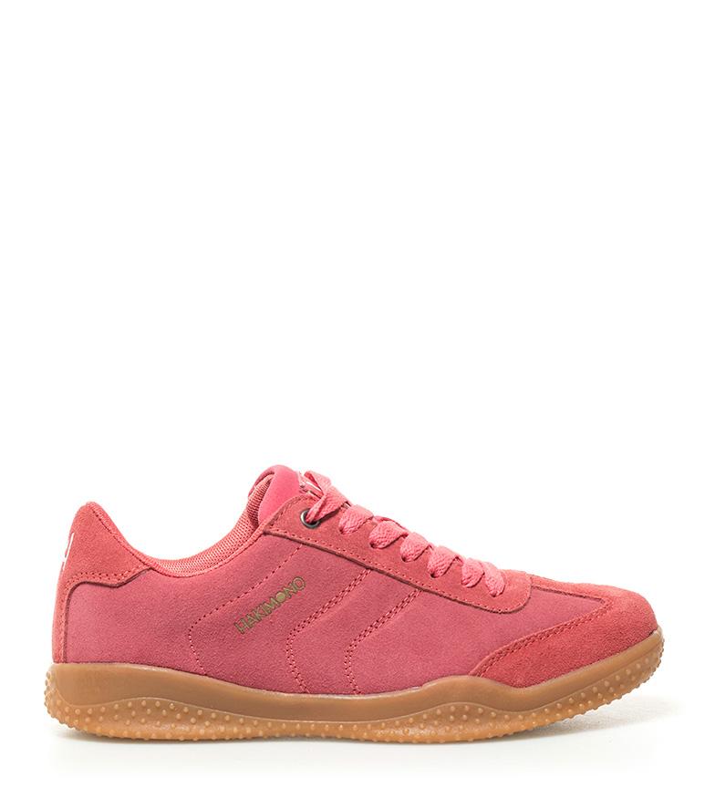 coral Hakimono Zapatillas Nami de piel wax0qFY