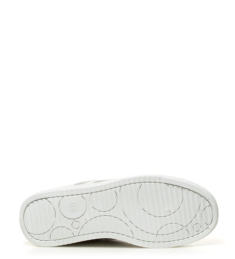 blanco plataforma Hakimono Tayan 5cm 4 Altura Zapatillas Tw1EHZ