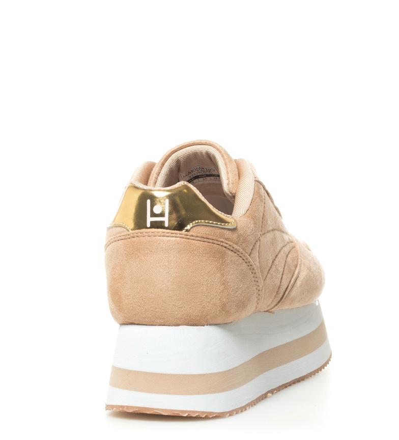 beige Zapatillas plataforma Yoko2 4 Hakimono 5cm Altura zHE6wx