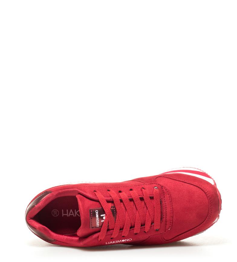 Zapatillas Hakimono 5cm Altura 4 rojo Yoko2 plataforma padqaZ