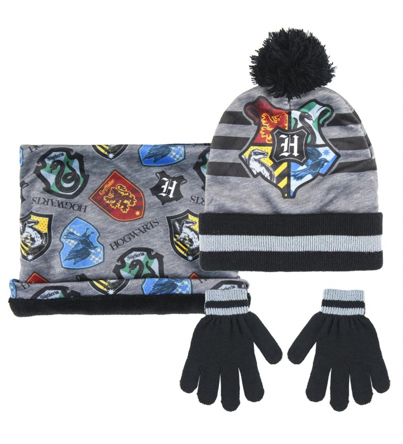 Comprar HARRY POTTER Set 3 pezzi mutandine Harry Potter, guanti e cappello grigio