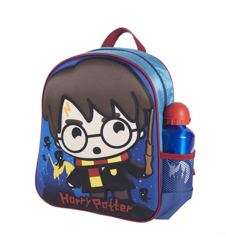 Cerdá Group Sac à dos pour enfants Harry Potter 3d bleu -25x31x10cm
