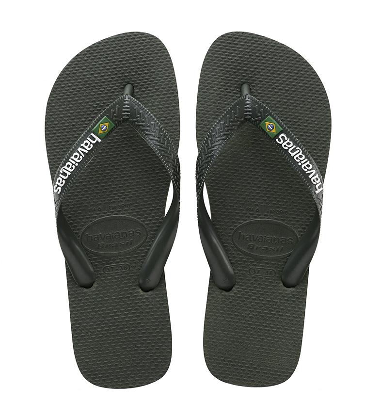 Comprar Havaianas Brazil slippers Green logo