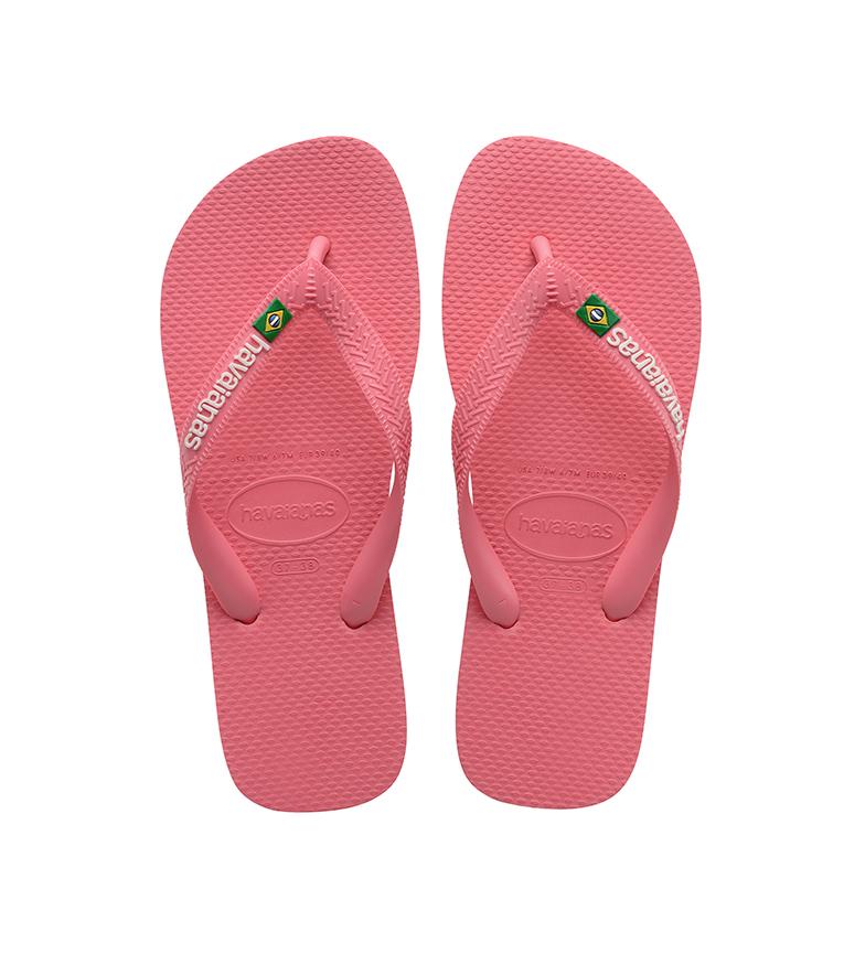 Comprar Havaianas Flip Flops Brazil Logo pink