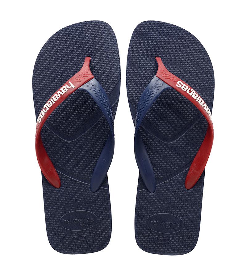 Comprar Havaianas Casual Navy Slippers, vermelho