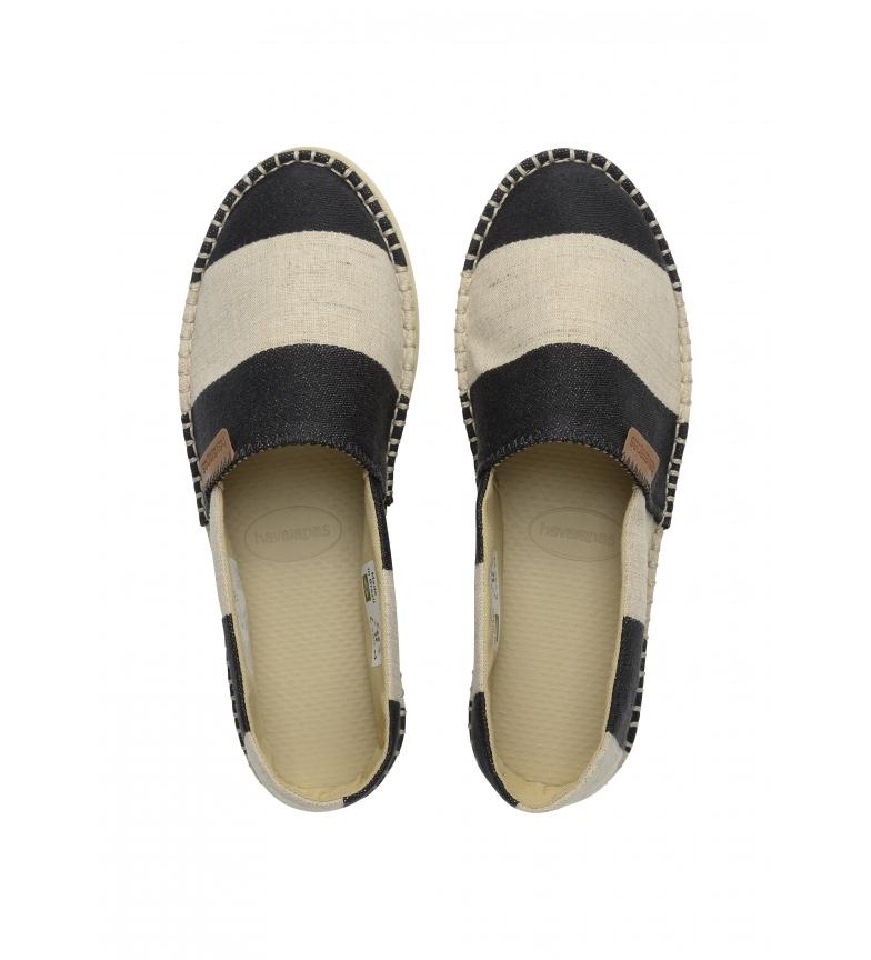 Comprar Havaianas Classic Flatform Eco espadrilles black, beige