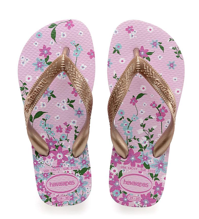 Comprar Havaianas Tongs Kids Flip Flops Fleurs quartz rose