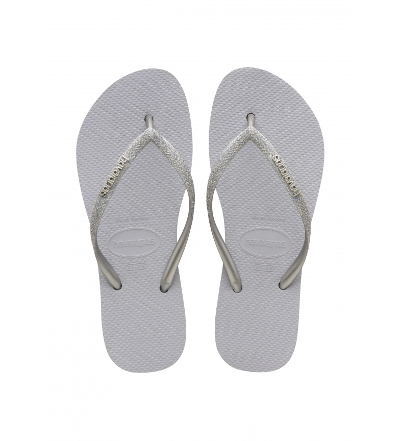 Comprar Havaianas Flip Flops Slim Flatform Glitter light gray
