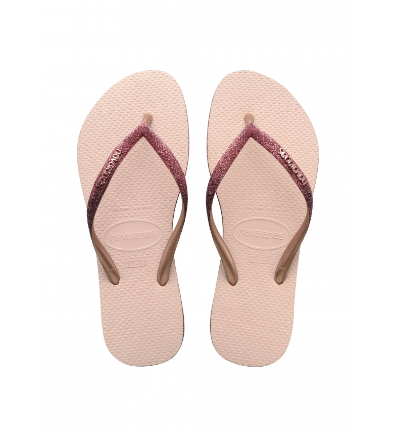Havaianas Flip Flops Slim Sparkle II pink