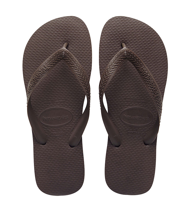 Comprar Havaianas Pantofole Top marrone scuro