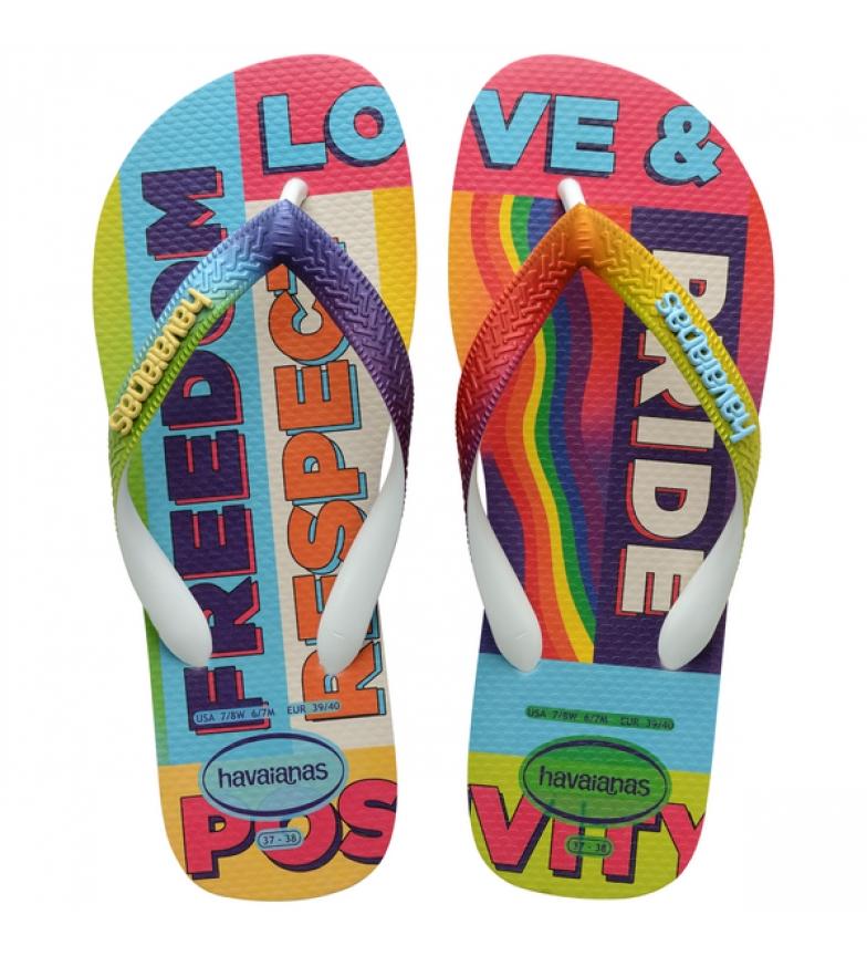 Havaianas Flip Flops Top Pride Multicolor Arco-íris