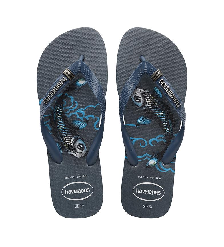Comprar Havaianas Flip Flops Top Tribo blue