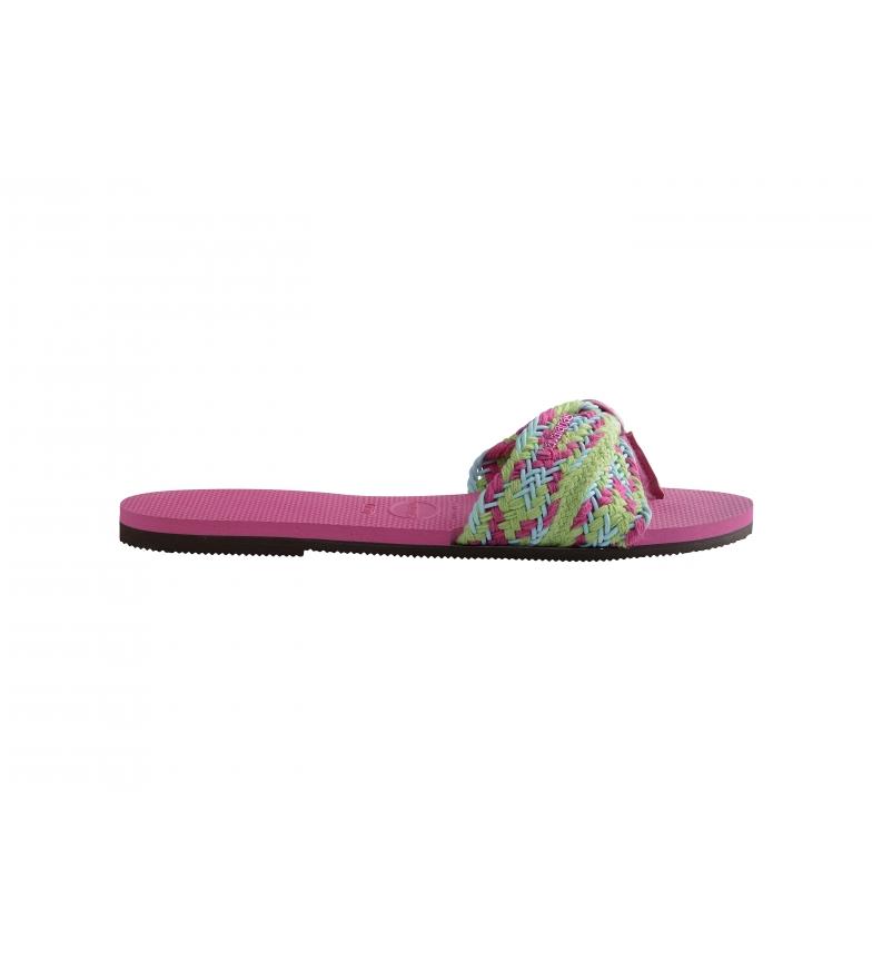 Havaianas Sandals You St. Tropez pink
