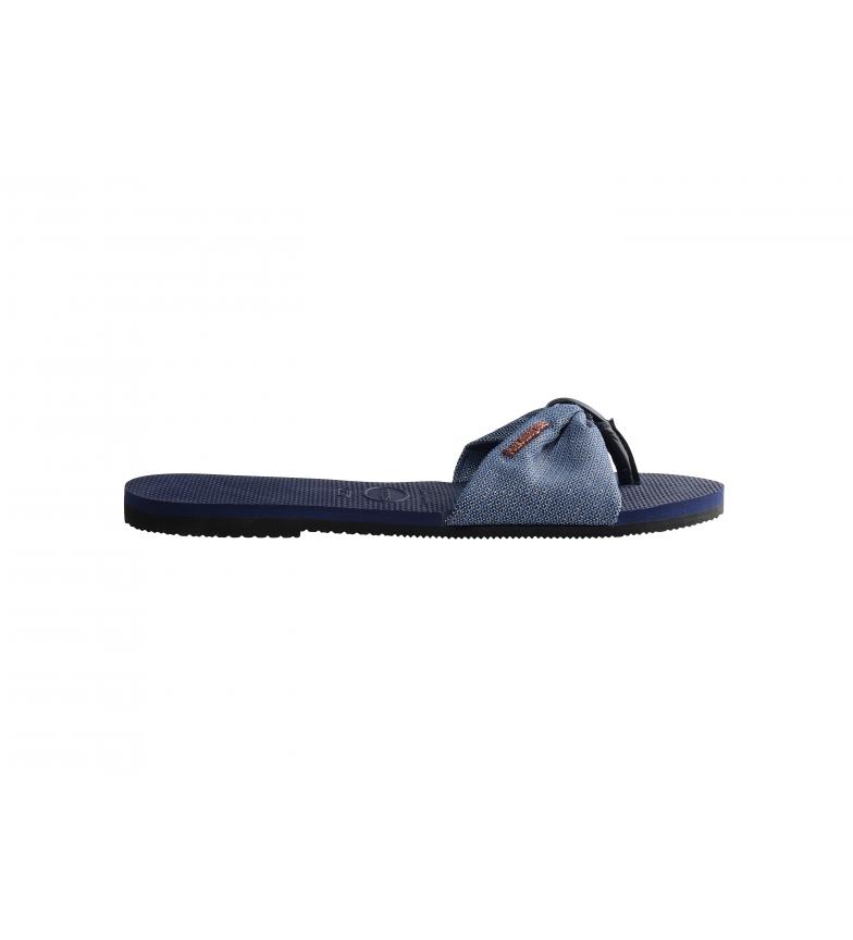Comprar Havaianas Você Sandálias azuis brilhantes St. Tropez