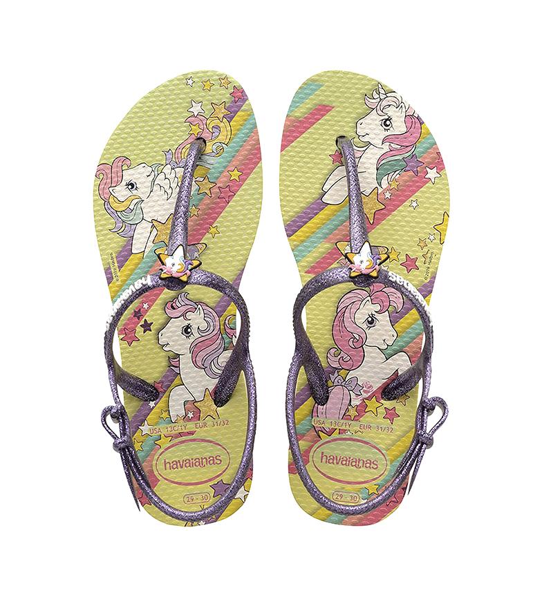 Comprar Havaianas Slippers Kids Freedom SL Meu Pequeno Pónei amarelo