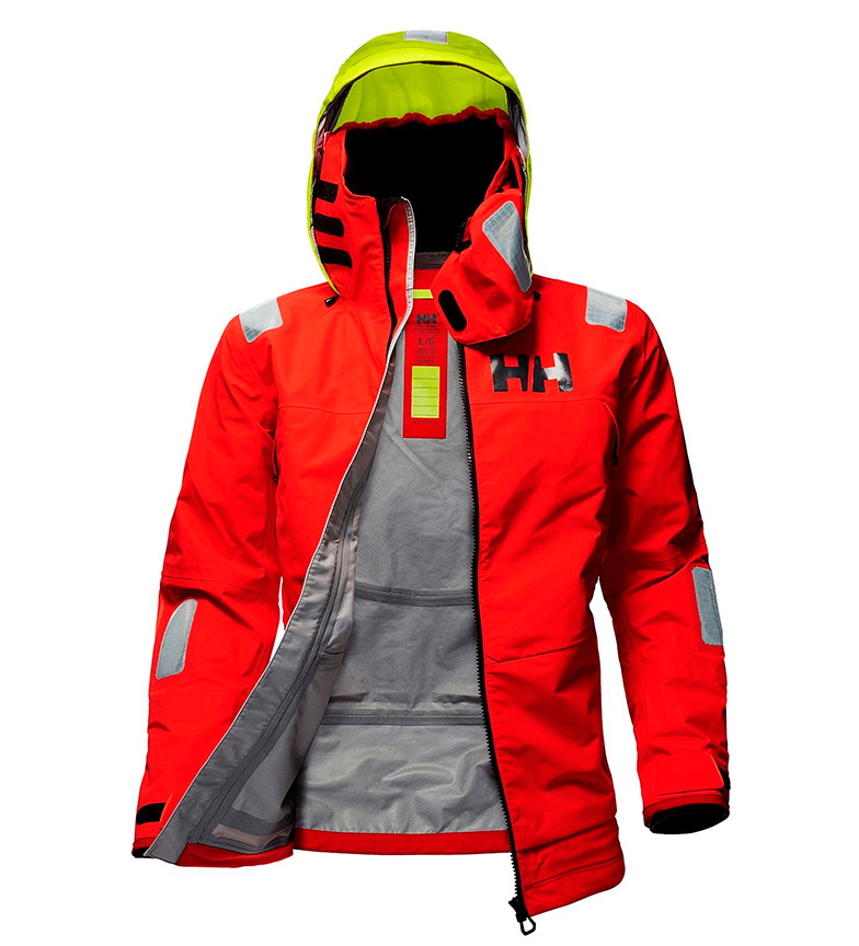 Comprar Helly Hansen Chaqueta Aegir Race rojo / Helly Tech® / DWR / YKK® / Polartec® /