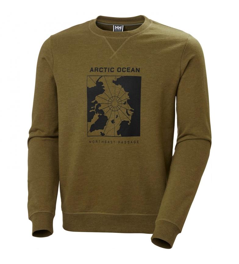 Comprar Helly Hansen Felpa verde Oceano Artico