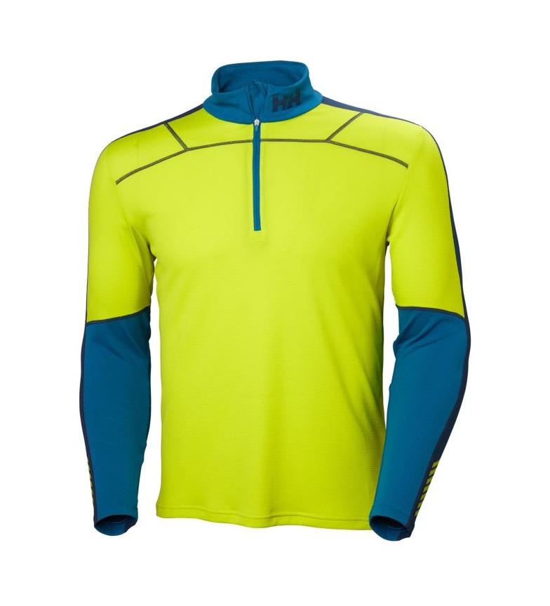 Comprar Helly Hansen T-shirt HH Lifa Active 1/2 Zip lime