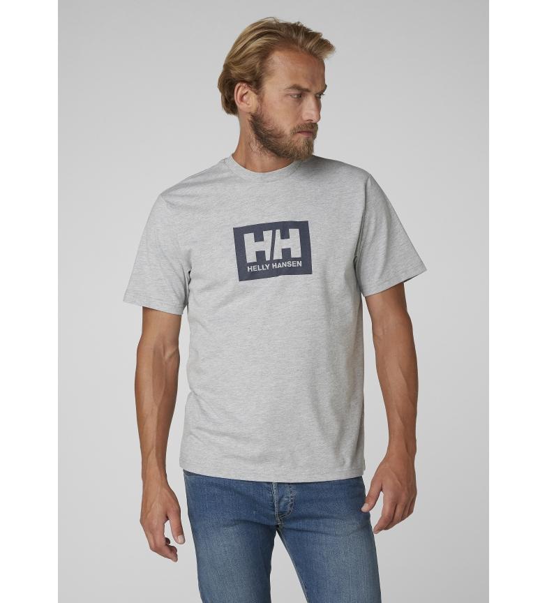 Helly Tokyo Helly Hansen Hansen Gris camiseta 1lcTKFJ