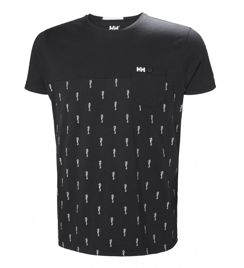 Comprar Helly Hansen Camiseta Fjord azul marino estampado