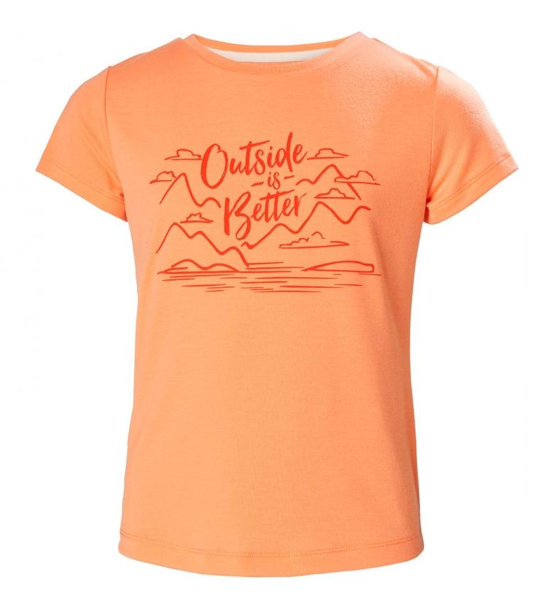 Comprar Helly Hansen Camiseta Junior Sara QD naranja