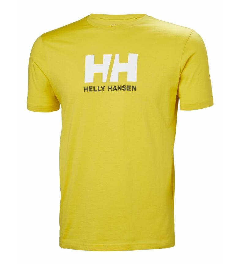 Comprar Helly Hansen Maglietta gialla con logo HH