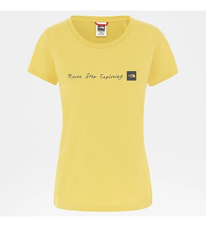 Comprar The North Face T-shirt nse amaillo