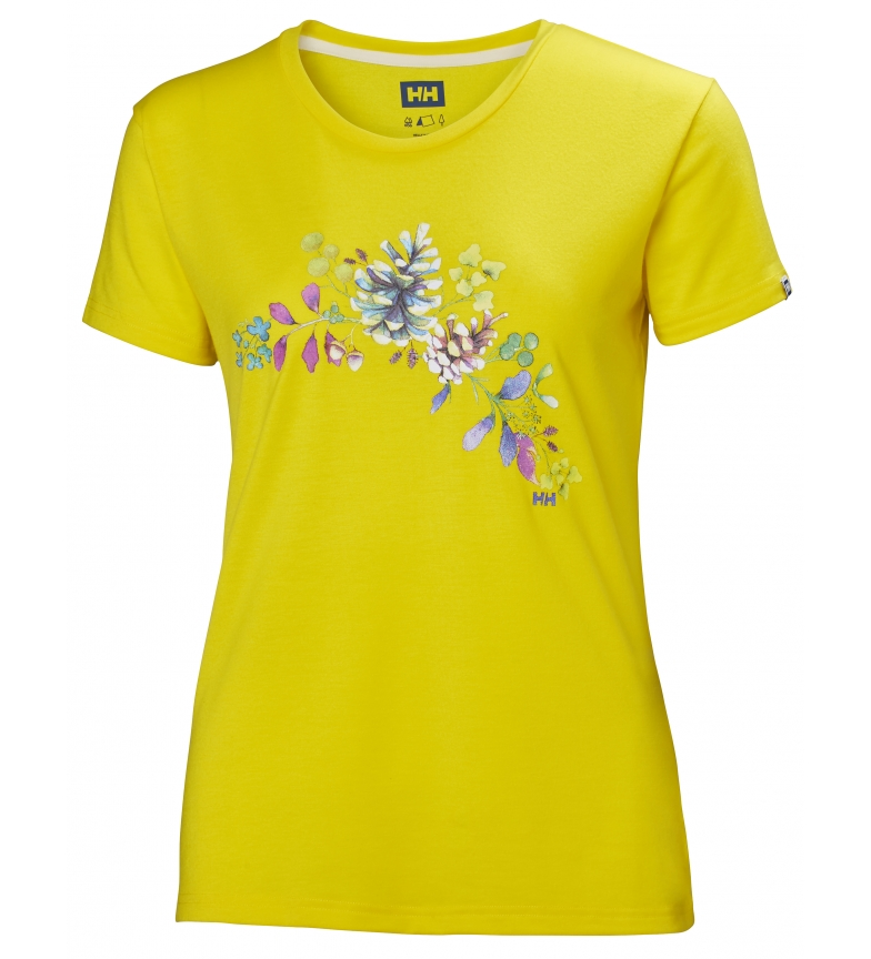 Hansen Amarillo Graphic Helly Skog camiseta lcFKJ1