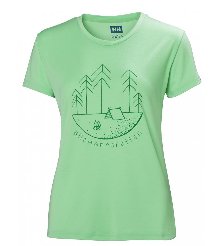 Comprar Helly Hansen Camiseta Skog Graphic verde