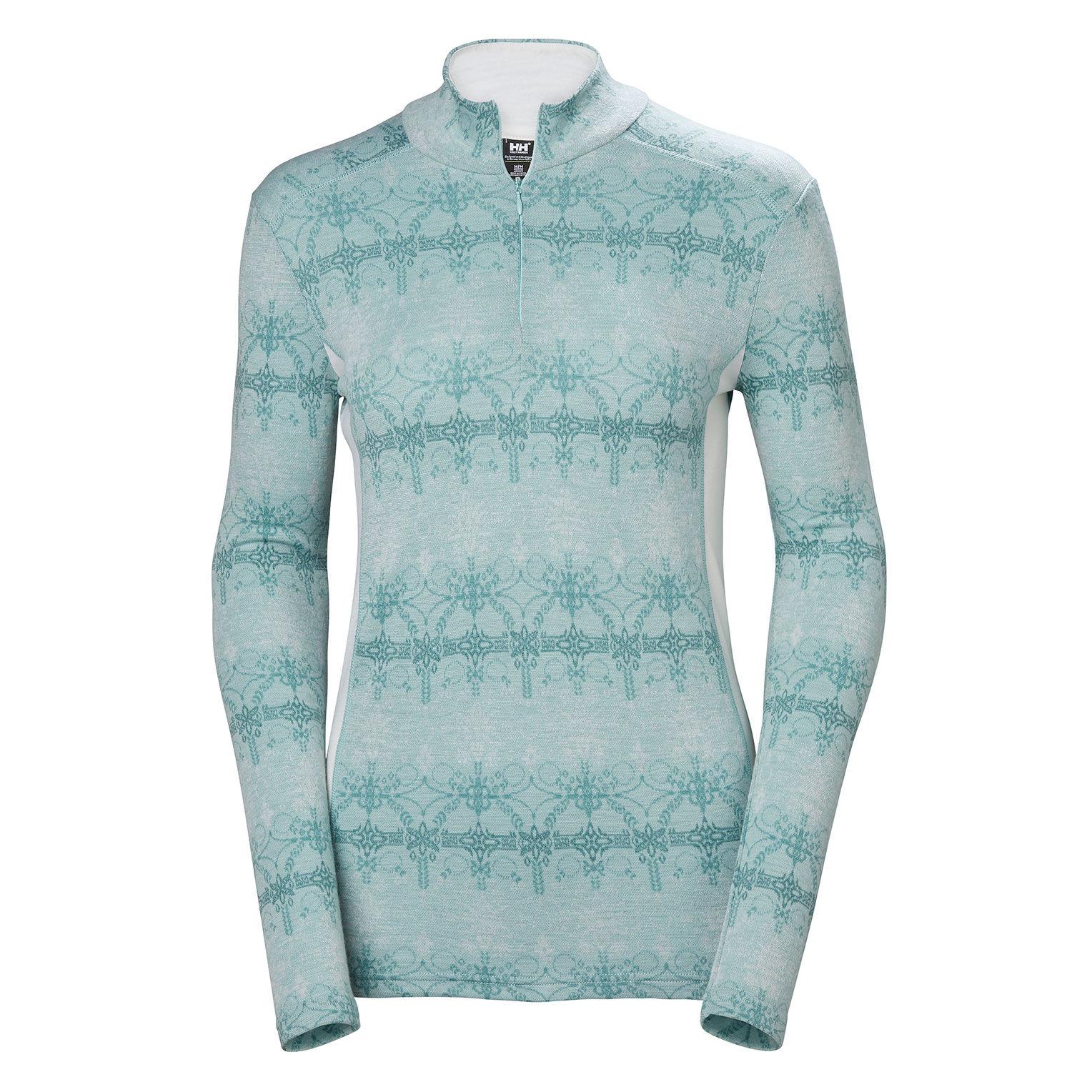 Comprar Helly Hansen T-Shirt termica turchese W HH Merino MID