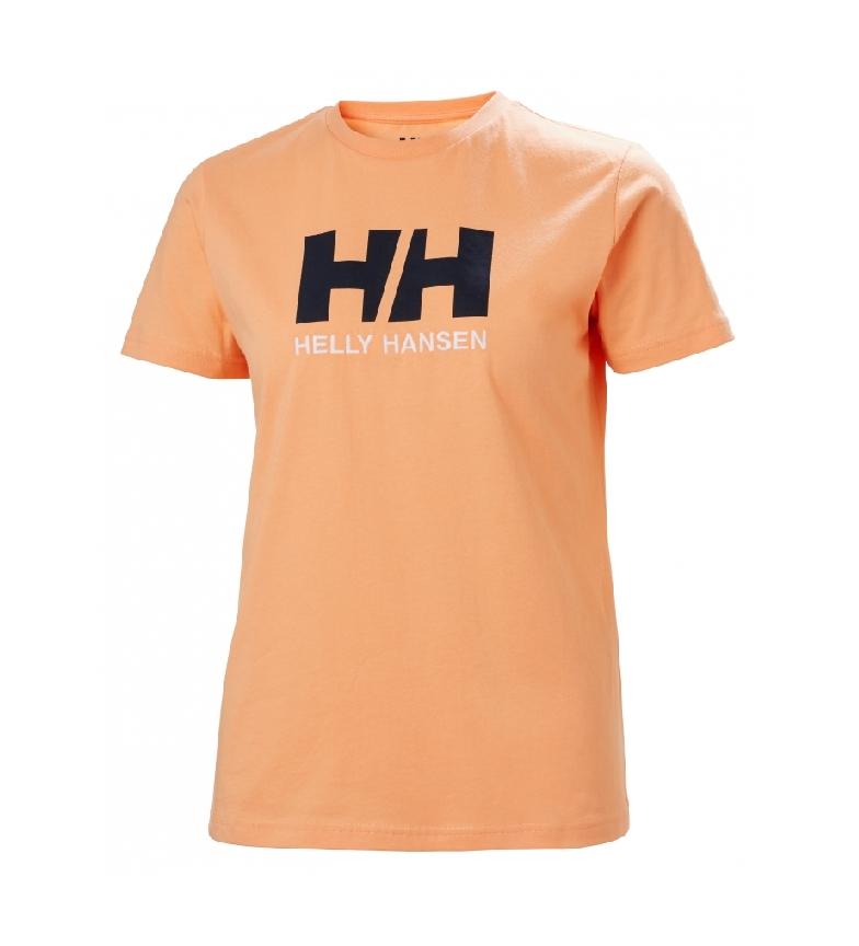 Comprar Helly Hansen T-shirt con logo HH arancione