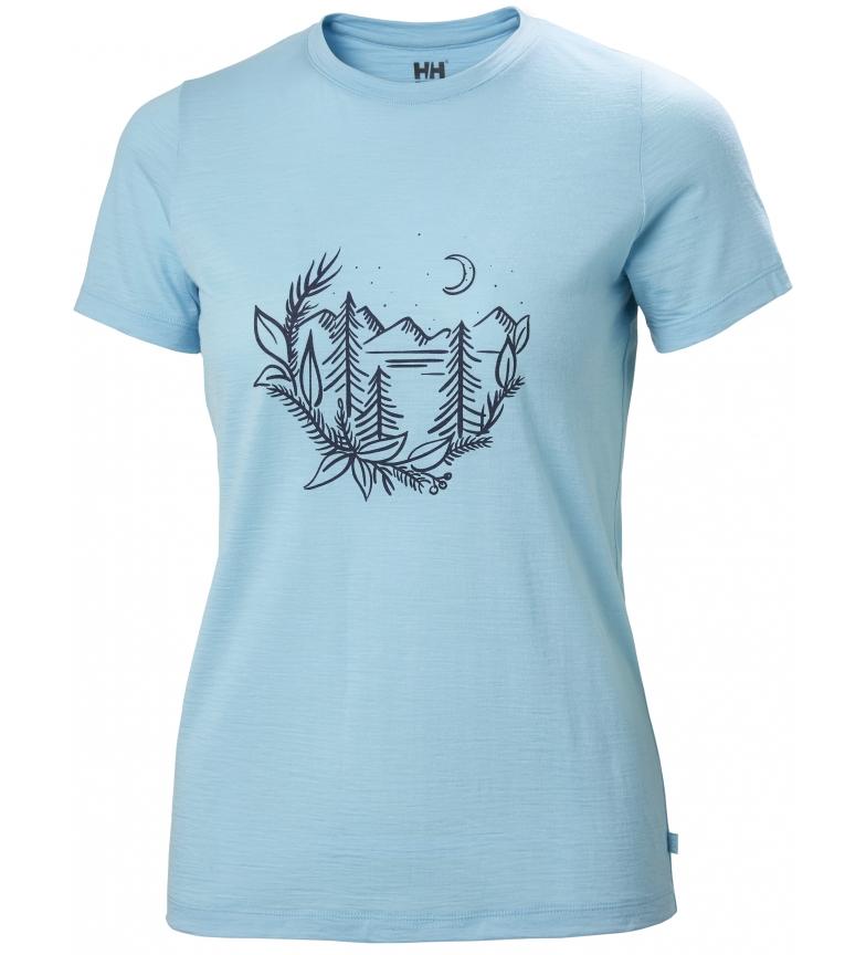 Comprar Helly Hansen T-shirt W HH Merino Graphic azul
