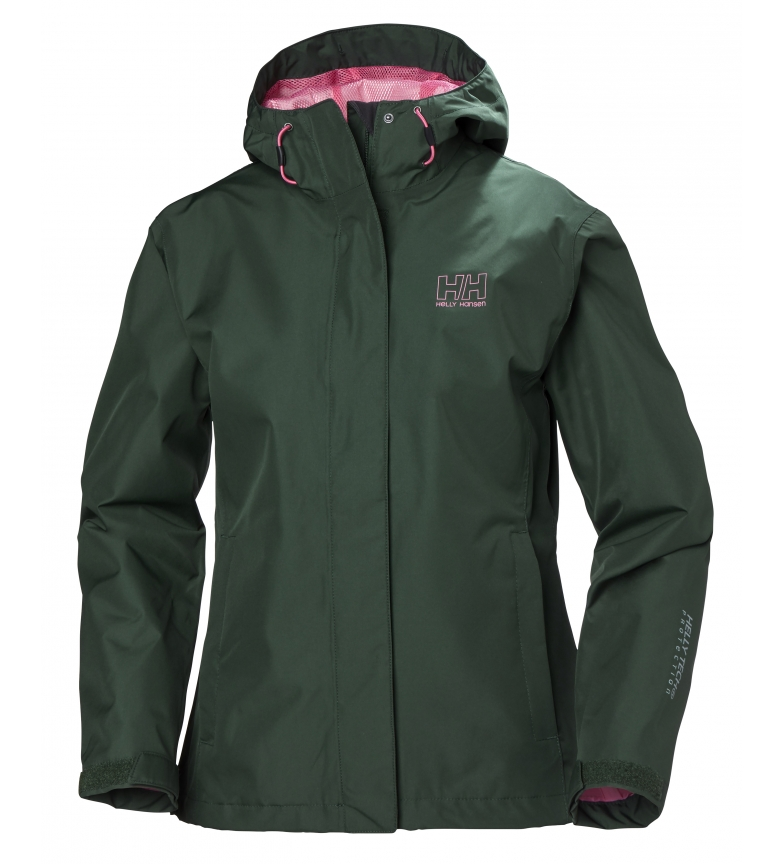Impermeable JbVerde W Seven Helly Hansenb chaqueta DEI29WH