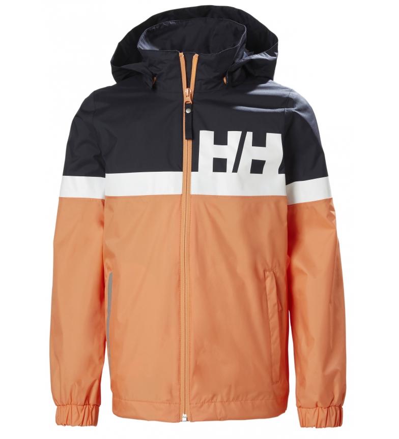 Comprar Helly Hansen Chubasquero JR Active Rain naranja