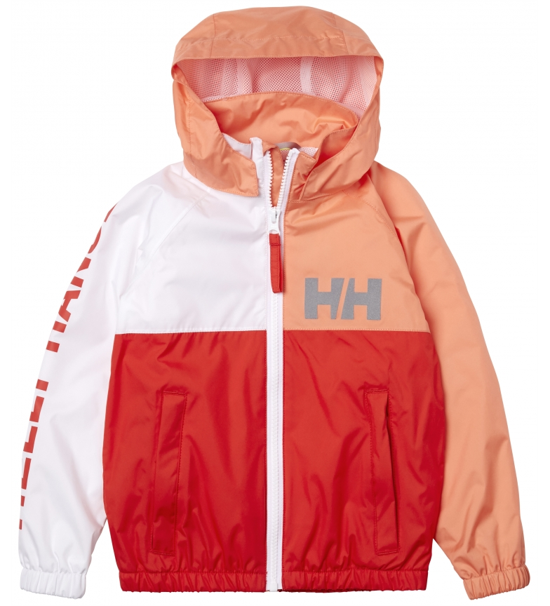 Comprar Helly Hansen K Active Rain Jacket red