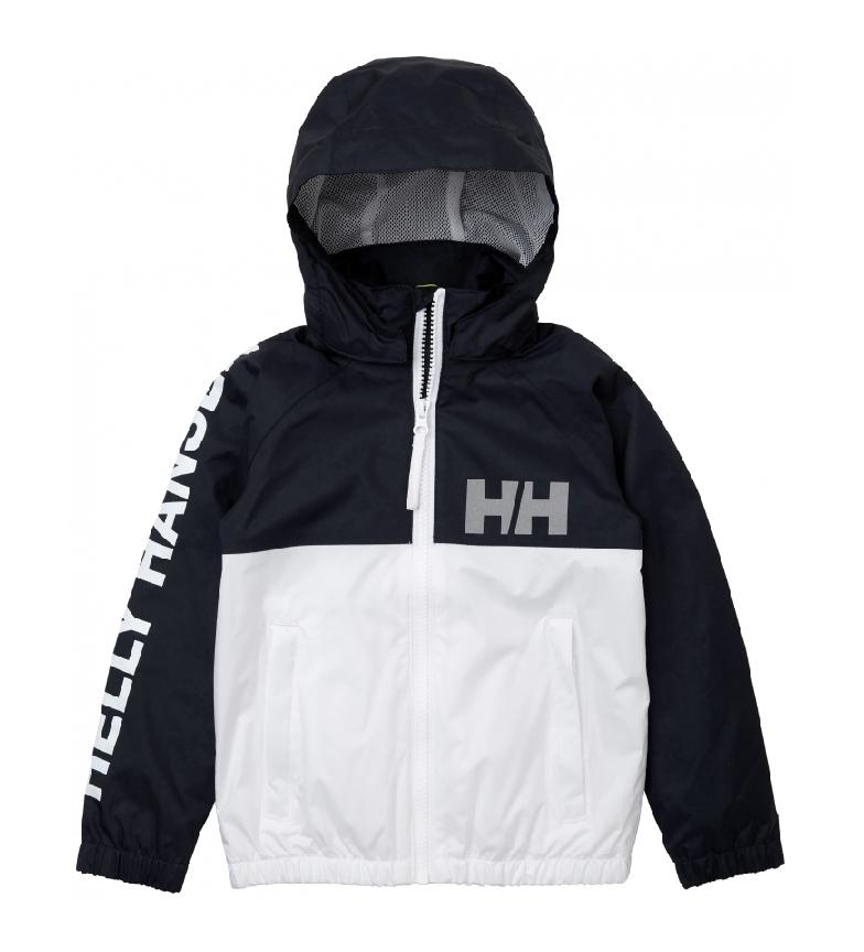Comprar Helly Hansen Chubasquero K Active Rain blanco, negro